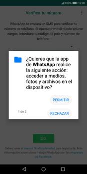 Configuración de Whatsapp - Huawei Y7 (2018) - Passo 6