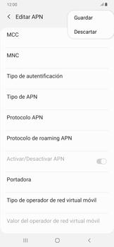 Configura el Internet - Samsung Galaxy A30 - Passo 17