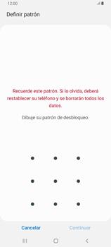 Desbloqueo del equipo por medio del patrón - Samsung Galaxy A80 - Passo 7