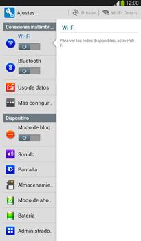 Configura el Internet - Samsung Galaxy Tab 3 7.0 - Passo 4