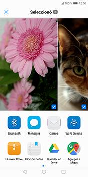 Transferir fotos vía Bluetooth - Huawei Y6 2018 - Passo 9