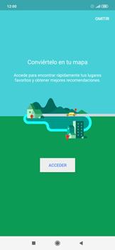 Uso de la navegación GPS - Xiaomi Redmi Note 7 - Passo 4