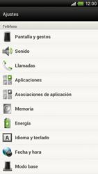 Restaura la configuración de fábrica - HTC ONE X  Endeavor - Passo 4