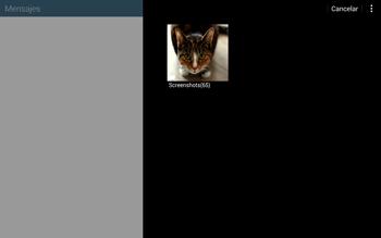 Envía fotos, videos y audio por mensaje de texto - Samsung Galaxy Note Pro - Passo 16