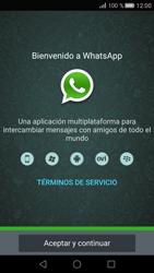 Configuración de Whatsapp - Huawei P8 - Passo 4