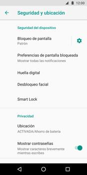 Desbloqueo del equipo por medio del patrón - Motorola Moto G6 Plus - Passo 12