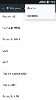 Configura el Internet - HTC U11 - Passo 14