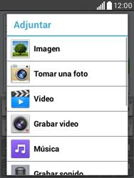 Envía fotos, videos y audio por mensaje de texto - LG L20 - Passo 13