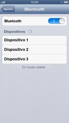 Conecta con otro dispositivo Bluetooth - Apple iPhone 5 - Passo 5