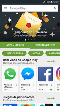 Instala las aplicaciones - Samsung Galaxy A7 2017 - A720 - Passo 5
