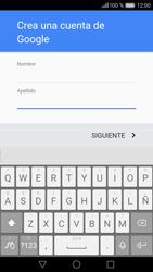 Crea una cuenta - Huawei P9 - Passo 4