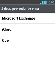 Configura tu correo electrónico - LG Optimus L3 II - Passo 6