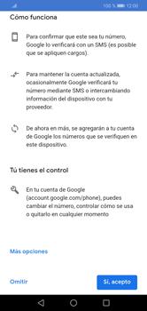 Crea una cuenta - Huawei Y7 2019 - Passo 12