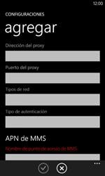 Configura el Internet - Nokia Lumia 620 - Passo 13