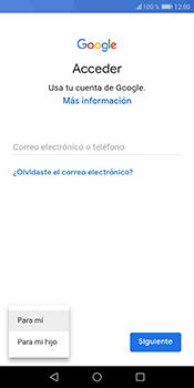 Crea una cuenta - Huawei Y6 2018 - Passo 4