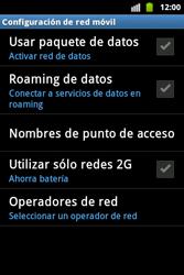 Desactiva tu conexión de datos - Samsung Galaxy Ace  GT - S5830 - Passo 6