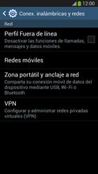 Desactiva tu conexión de datos - Samsung Galaxy S4 Mini - Passo 4