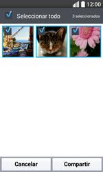 Transferir fotos vía Bluetooth - LG L70 - Passo 7