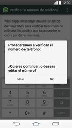 Configuración de Whatsapp - LG G3 Beat - Passo 6