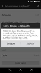 Limpieza de aplicación - HTC Desire 626s - Passo 7