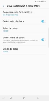 Desactivación límite de datos móviles - Samsung Galaxy S9 Plus - Passo 7