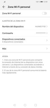 Configura el hotspot móvil - Huawei P30 - Passo 5
