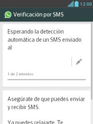 Configuración de Whatsapp - LG Optimus L3 II - Passo 7