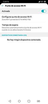 Configura el hotspot móvil - LG G7 Fit - Passo 10