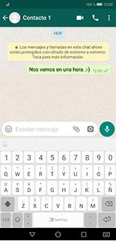 Usar WhatsApp - Huawei P20 Pro - Passo 7