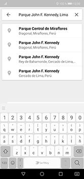 Uso de la navegación GPS - Huawei P20 Lite - Passo 13