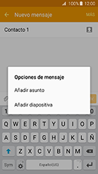 Envía fotos, videos y audio por mensaje de texto - Samsung Galaxy J3 - J320 - Passo 10