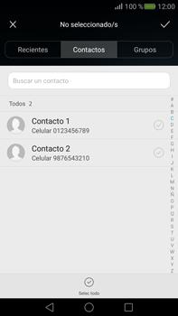 Envía fotos, videos y audio por mensaje de texto - Huawei Mate S - Passo 4