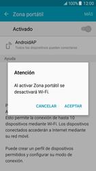 Configura el hotspot móvil - Samsung Galaxy J5 - J500F - Passo 11