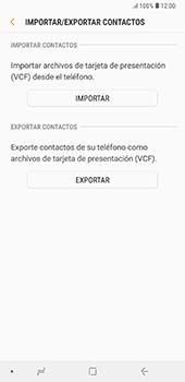 ¿Tu equipo puede copiar contactos a la SIM card? - Samsung A7 2018 - Passo 8