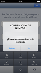 Configuración de Whatsapp - Apple iPhone 5s - Passo 7