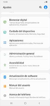 Actualiza el software del equipo - Samsung Galaxy A10 - Passo 5