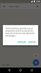 Uso de la navegación GPS - Motorola Moto G5 - Passo 5