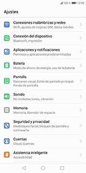 Desactivación límite de datos móviles - Huawei Y6 2018 - Passo 3
