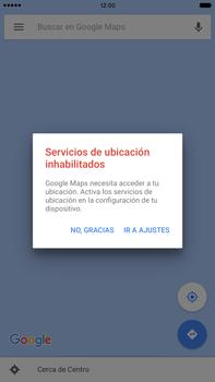 Uso de la navegación GPS - Apple iPhone 6 Plus - Passo 7