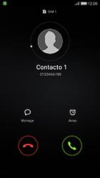 Contesta, rechaza o silencia una llamada - Huawei Cam Y6 II - Passo 2