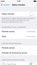 Desactiva tu conexión de datos - Apple iPhone 5s - Passo 4