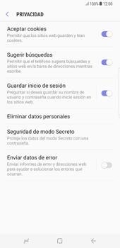 Limpieza de explorador - Samsung Galaxy S8+ - Passo 9