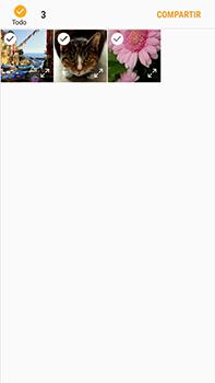 Transferir fotos vía Bluetooth - Samsung Galaxy J7 Prime - Passo 9
