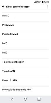 Configura el Internet - LG Q6 - Passo 12