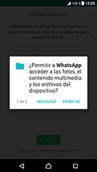 Configuración de Whatsapp - Sony Xperia XZ Premium - Passo 6