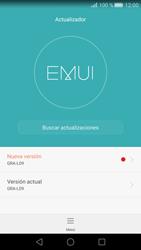 Actualiza el software del equipo - Huawei P8 - Passo 5