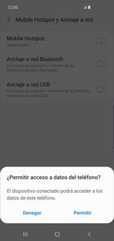 Comparte la conexión de datos con una PC - Samsung S10+ - Passo 7