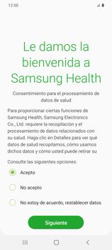 Cómo funciona el Samsung Health - Samsung Galaxy S20 - Passo 7