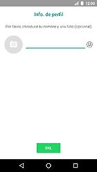 Configuración de Whatsapp - LG K8 (2017) - Passo 12