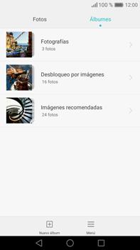 Transferir fotos vía Bluetooth - Huawei Mate 8 - Passo 4